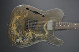 Trussart Deluxe Steelcaster - Rust on Cream - Dragon
