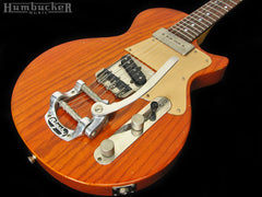 Fano SP-6 Guitar w/ Bigsby in Roundup Orange
