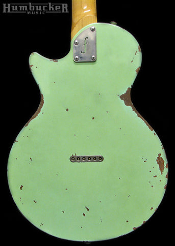 Fano SP6 Guitar in Surf Green