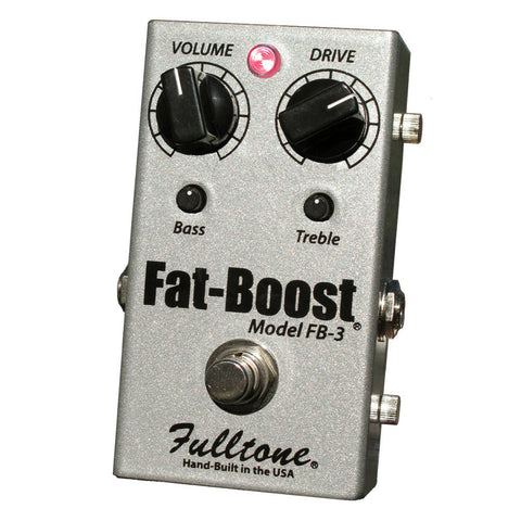 Fulltone Fat Boost 3 Pedal - Latest Version FB3