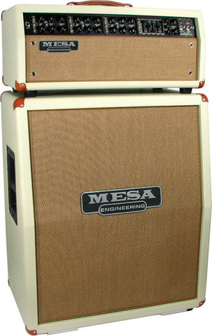 Mesa Boogie Mark V Head / Vertical Cab - Cream Bronco