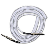 Lava Retro Coil White 20ft Straight/Straight Guitar Cable