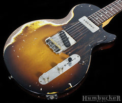 Fano SP6 Guitar - TV Burst w/ Firestripe Pickguard