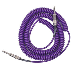 Lava Cable Retro Coil Purple 20 ft Straight to Straight Guitar Cable