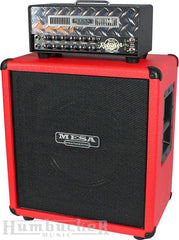 Mesa Boogie Mini Rectifier Head & Cab in Custom Red