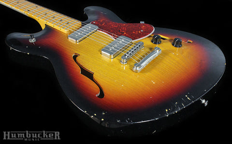 Fano GF6 Guitar in 3 Tone Sunburst