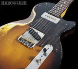 . Fano SP6 Guitar - TV Burst w/ Firestripe Pickguard