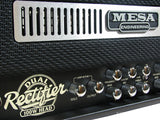 _ Mesa Boogie Dual Rectifier Head w/ Black Jute Panel