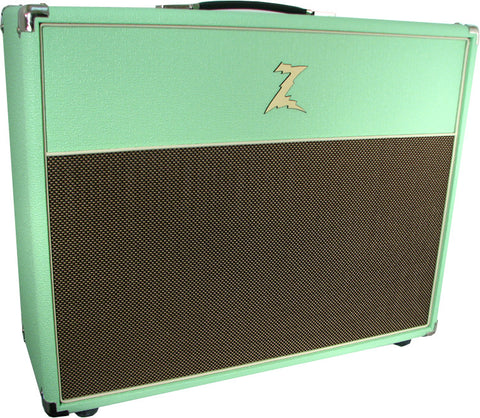 Dr. Z 2x12 Open Back Cab - Surf Green