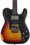 Nash TC-72 Guitar, 3 Tone Sunburst, Rosewood Neck