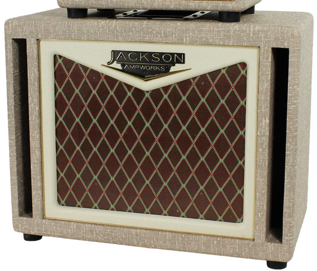 jackson ampworks 1x12 cab fawn humbucker music. Black Bedroom Furniture Sets. Home Design Ideas