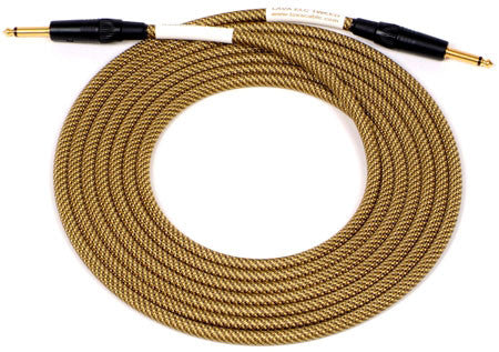 Lava Vintage ELC Tweed 10ft Straight/Straight Guitar Cable