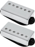 Lollar Imperial Humbucker Pickup Set, Low Wind, Nickel, 4 Cond
