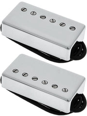 Lollar Imperial Humbucker Pickup Set, Low Wind, Nickel