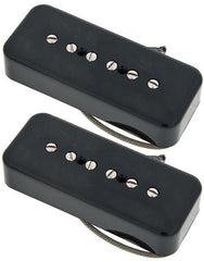 Lollar P-90 Soap Bar Pickup Set, Matte Black