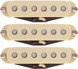 Lollar Strat Dirty Blonde Pickup Set, Cream