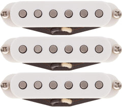 Lollar Strat Blonde Pickup Set, White