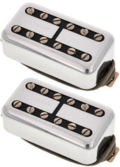 Lollar Lollartron Humbucker Pickup Set, Nickel