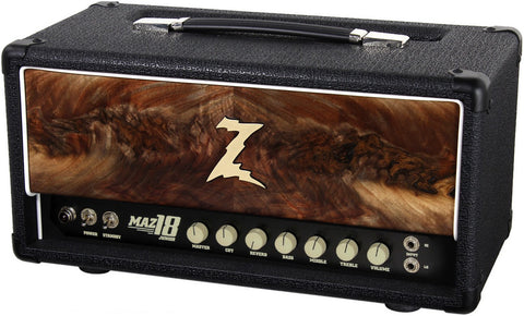 Dr. Z Maz 18 Jr Reverb Head - Custom Burl Walnut