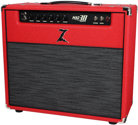 Dr. Z Maz 38 Sr NR 1x12 Combo - Red, ZW Grille