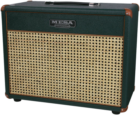 Mesa Boogie 1x12 Lone Star 23 Cab - Emerald & Wicker