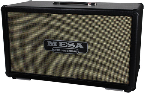 Mesa Boogie 2x12 Recto Horizontal Cab - Black/Cream Grill