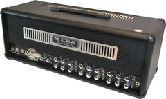 Mesa Boogie Dual Rectifier Head w/ Black Jute Panel