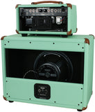 _ Mesa Boogie Mark V 25 Head / Cab - Surf Green - Wicker