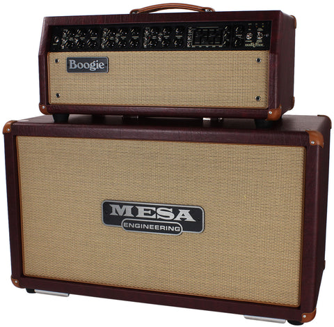 Mesa Boogie Mark V Head / Horizontal Cab - Wine Taurus