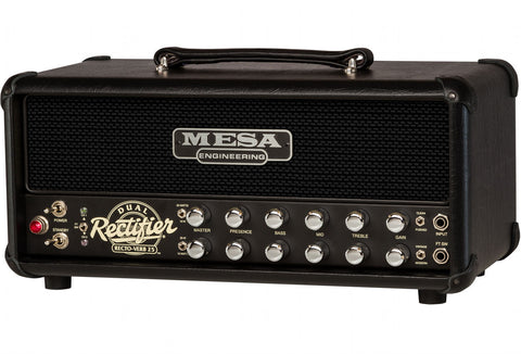 Mesa Boogie Rectoverb 25 Head - Black Grille