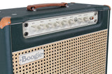 Mesa Boogie California Tweed 6V6 1x12 Combo, Emerald Green, Wicker Grille