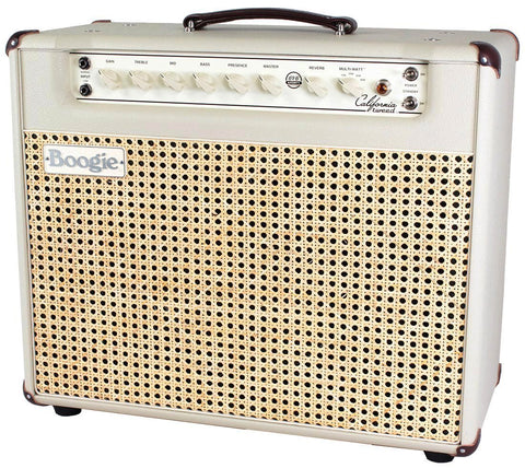 Mesa Boogie California Tweed 6V6 1x12 Combo, Cream, Wicker Grille