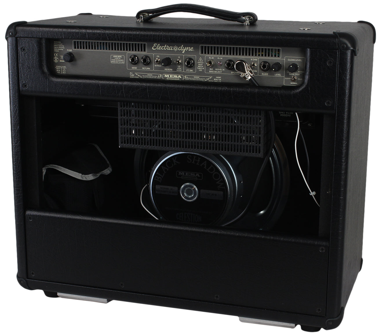 mesa boogie electra dyne 1x12 combo amp in black humbucker music. Black Bedroom Furniture Sets. Home Design Ideas