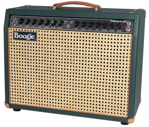 Mesa Boogie Fillmore 50 1x12 Combo, Emerald Green, Wicker Grille