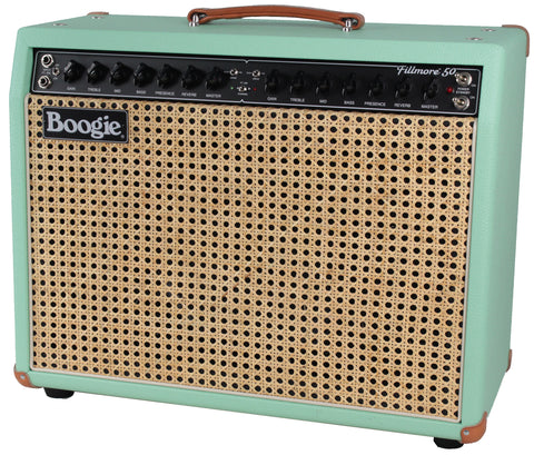 Mesa Boogie Fillmore 50 1x12 Combo - Surf Green - Wicker