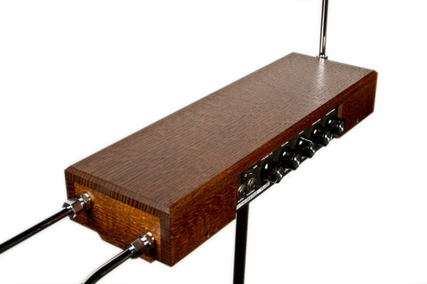 Moog Etherwave Plus Theremin - Quarter Sawn Tiger Oak