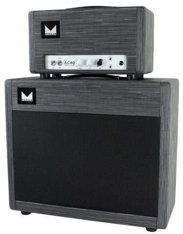 Morgan AC40 Deluxe Head & 1x12 Cab - Twilight