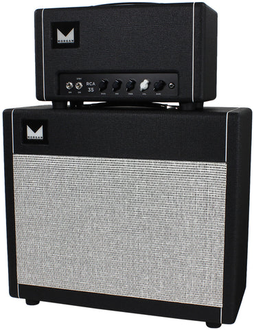 Morgan RCA35 Head & 1x12 Cab - Black