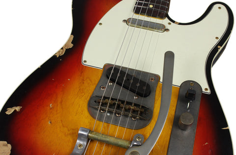 Nash TC-63 Guitar, 3 Tone Sunburst, Bigsby
