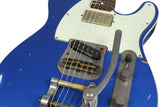 Nash TC-63 Guitar, Lake Placid Blue, Bigsby