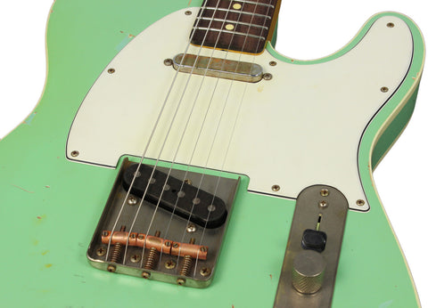 Nash TC-63 Telecaster Guitar, Seafoam Green