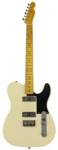 Nash GF-2 Gold Foil Guitar, Vintage White