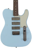 Nash GF-3 Gold Foil Guitar, Sonic Blue, Light Aging