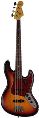 Nash JB-63 Bass Guitar, 3-Tone Sunburst w/ Tortoise Shell
