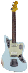 Nash Guitars JG-63 Jaguar, Sonic Blue