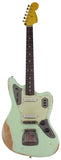 Nash Guitars JG-63 Jaguar, Surf Green