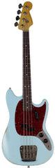 Nash MB-63 Bass Guitar, Sonic Blue