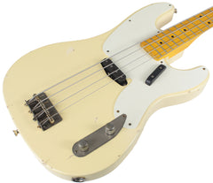 Nash PB-52 Bass Guitar, Vintage White