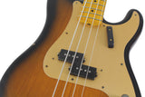 Nash PB-57 Bass Guitar, 2-Tone Sunburst w/ Gold Anodized Pickguard