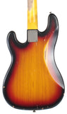 Nash PB-57 Bass Guitar, 3-Tone Sunburst w/ Gold Anodized Pickguard